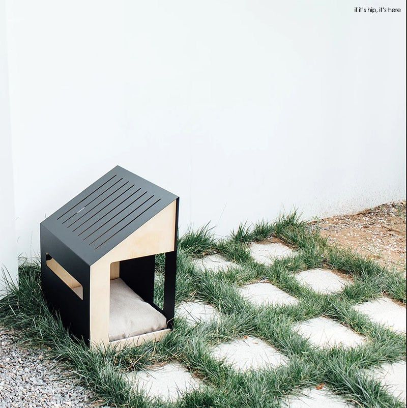Bad Marlon Architectural Dog Houses on If It's Hip, It's Here