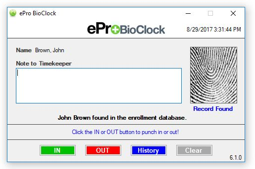 Time & Attendance Software, ePro Scheduling, Online Time Clock - eCore