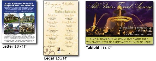 Flyers & Brochures Printing Online