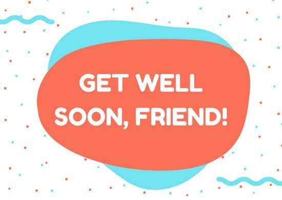 Tomato Shapes Get Well Soon Card - Templates by Canva