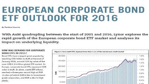 Lyxor ETFs - Financial Investigator: European Corporate Bond ETF ...