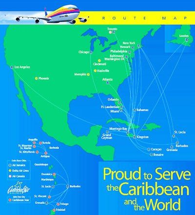 Air Jamaica, Jamaica Airlines, Jamaica Air Flights
