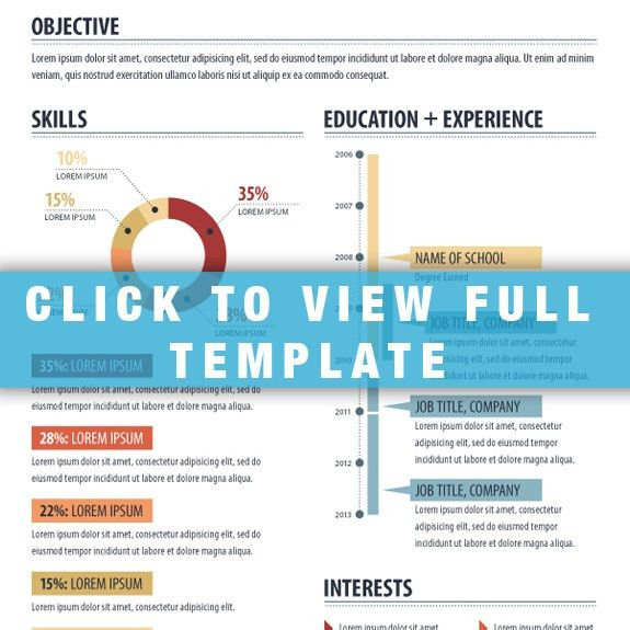 Infographic Resume Template: Stand Out | infographictemplates ...