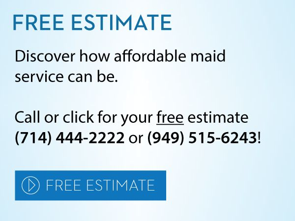 Current Specials on Maid & Cleaning Service - House Cleaning in ...