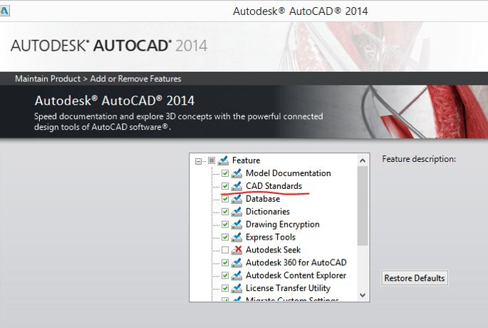 CAD Standards Plugins missing | AutoCAD | Autodesk Knowledge Network
