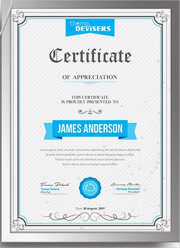 Best Training Certificate Templates || Free & Premium | Creative ...