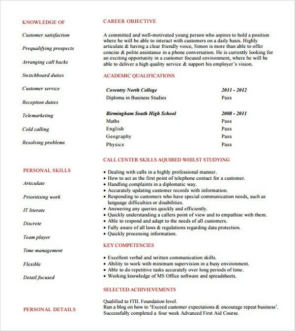 bpo resume samples bpo resume template 22 free samples examples