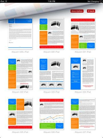 Pages Templates for iPad - Download Free Pages Templates App ...