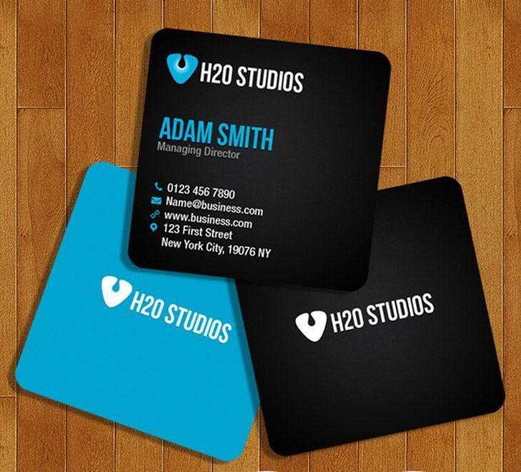 256 best Free Business Card Templates images on Pinterest ...