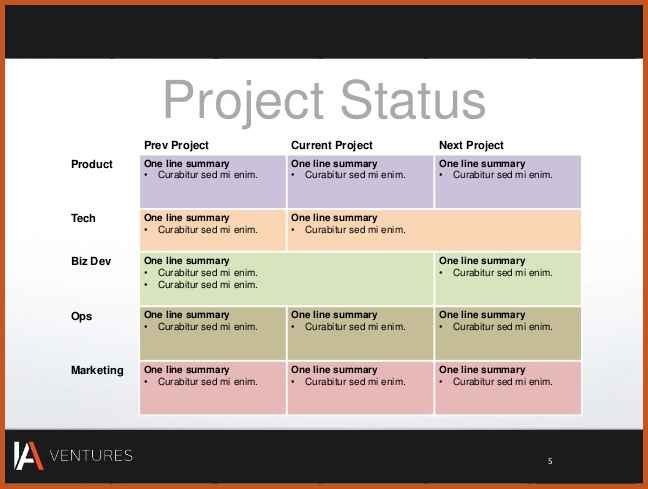 Project Summary Template | Sop Example  Project Summary Template