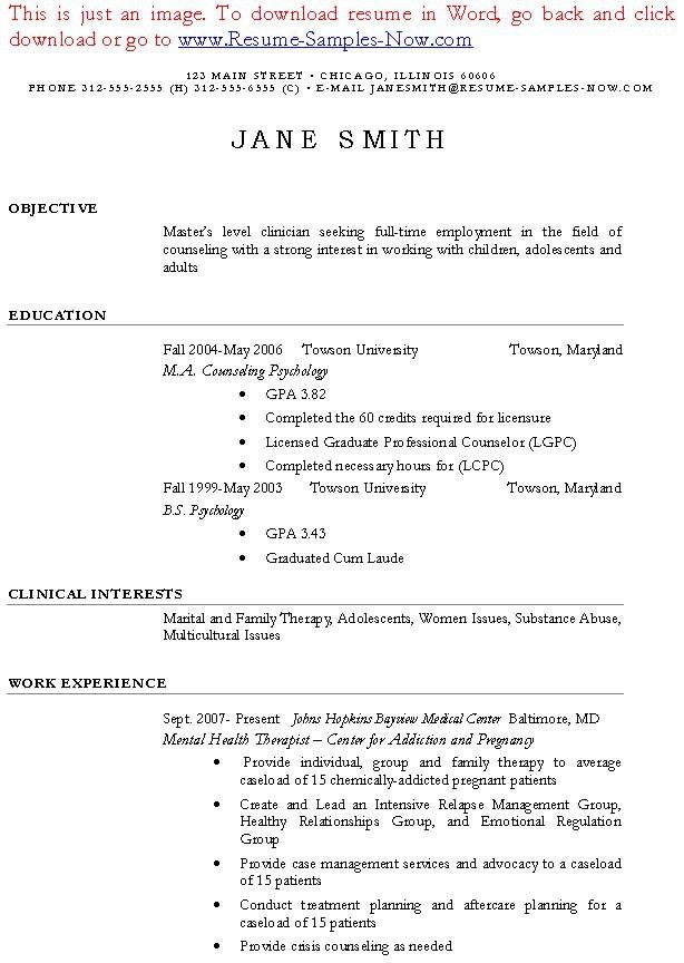 Massage Therapist Resume Sample | Sample Resumes