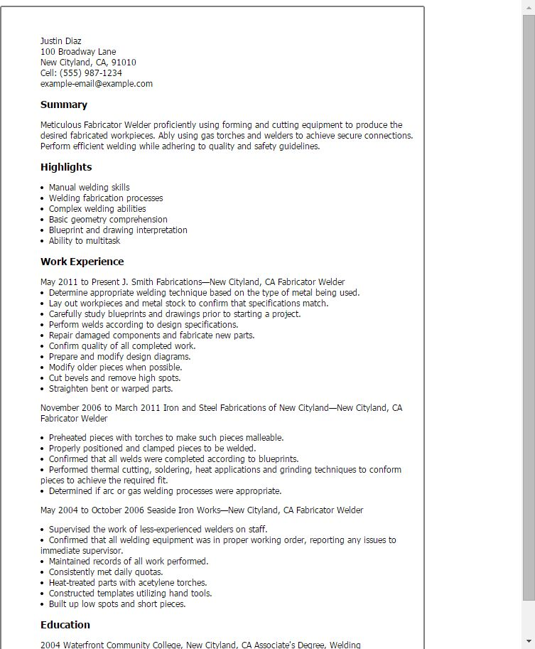 Long Haul Truck Driver Cover Letter