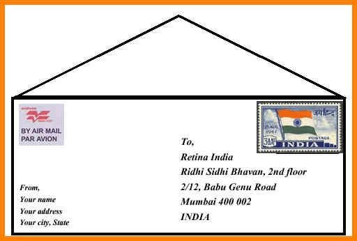 6+ address on envelope format india | cashier resumes