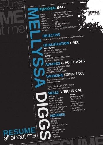 43 best Graphic Design Resumes images on Pinterest | Resume ideas ...