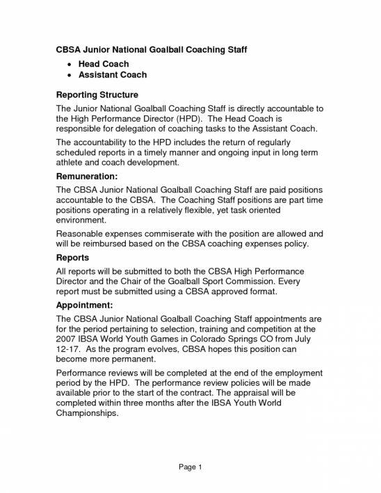 high school basketball coach resume professional high school