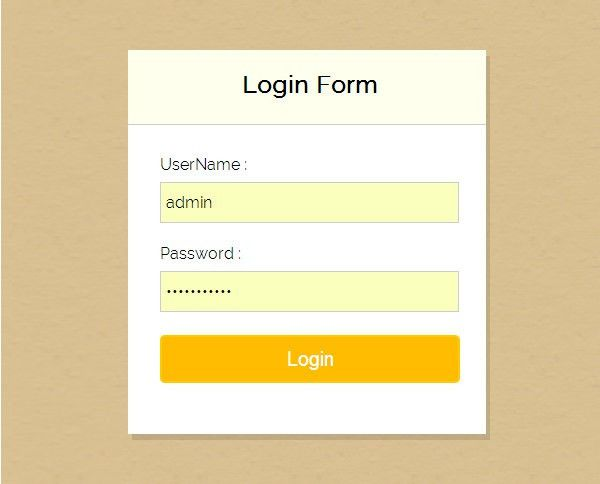 7+ Free PHP Login Form Templates to Download | Free & Premium ...