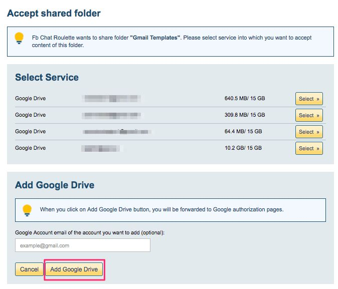 How to share customized Gmail™ templates – cloudHQ Support