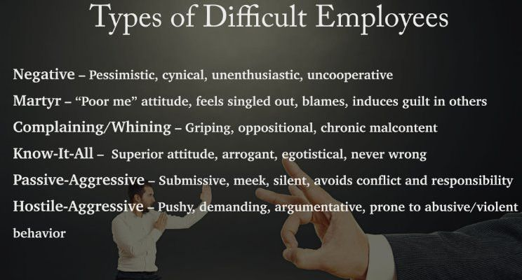 Taming the Difficult Employee + Example of a Performance ...