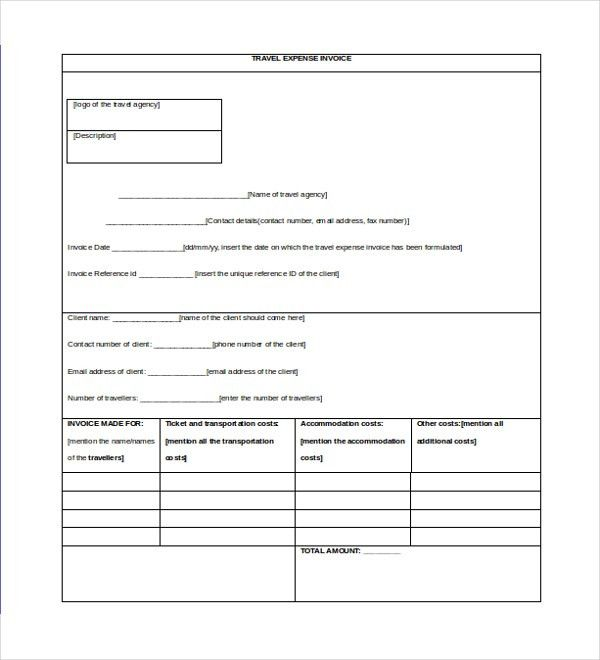 12+ Invoice Templates - Free Sample, Example, Format   Free ...