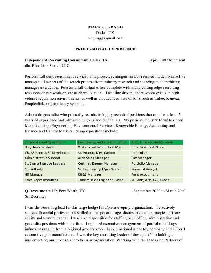 Recruiter Resume Sample Recruiter Cover Letter Sample, Physician ...