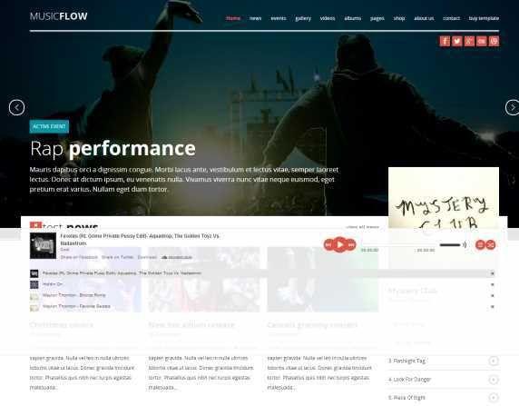 100+ Best Responsive Premium HTML, CSS & Web Templates 2014 | Web ...