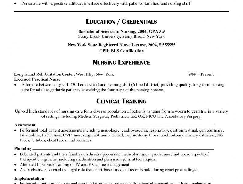 Opulent Design New Grad Nursing Resume 12 New Grad Nurse Resume ...