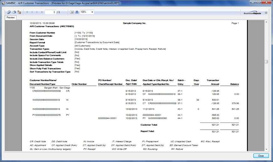 Advance Receipt from a Customer – Sage 300 ERP – Tips, Tricks and ...