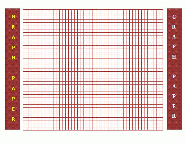 Graph Paper Template | Free Business Templates