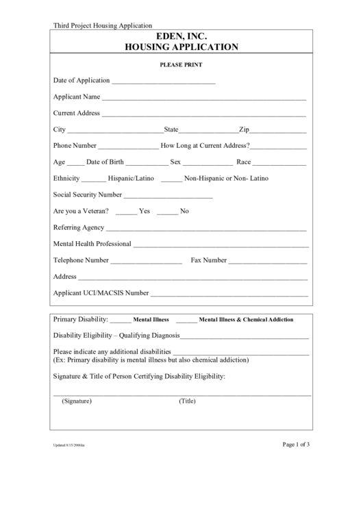 Housing Application Template. housing application template virtren ...