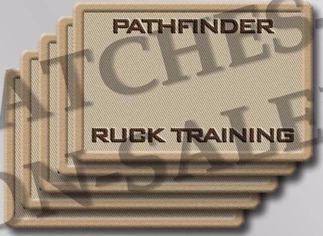 Additional Blank Roster Patch – PATHFINDER Ruck Training