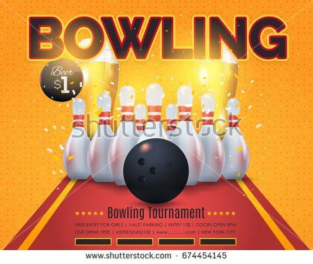 Bowling Flyer Stock Images, Royalty-Free Images & Vectors ...