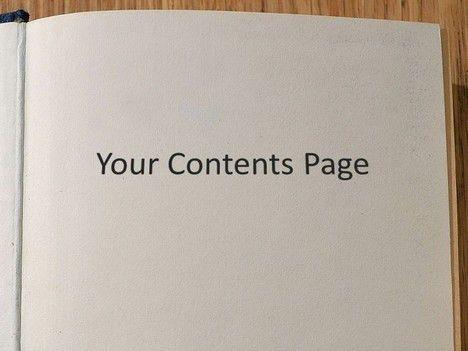 Editable Book Template