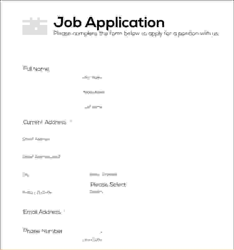 9 Simple Job ApplicationAgenda Template Sample | Agenda Template ...