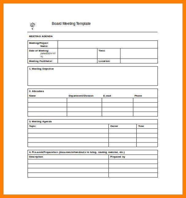 8+ meeting report template word | target cashier