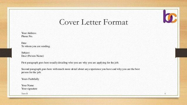 Cover Letter, Quotations, Tender & E-Tender