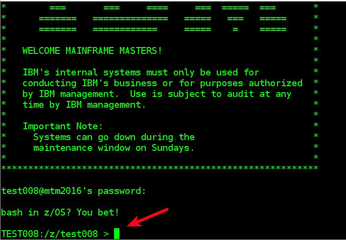 IBM Master the Mainframe