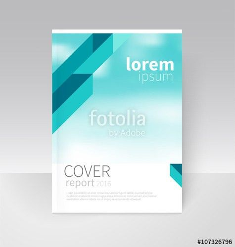 Cover design. Brochure, flyer, annual report cover template. a4 ...
