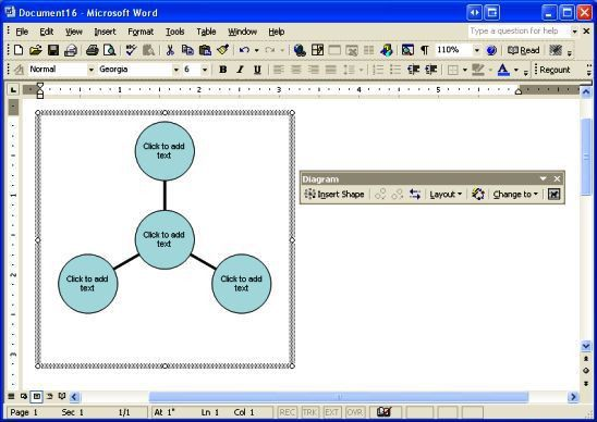 Create sophisticated professional diagrams in Microsoft Word ...