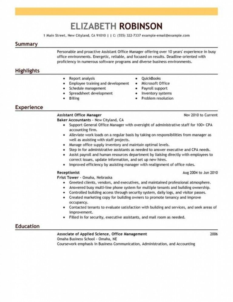 Sample resume administrative accounting / Li shing fu thesis