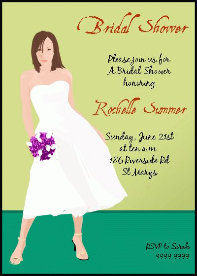 Brunch Bridal Shower Invitation Wording - Wedding Invitation Sample