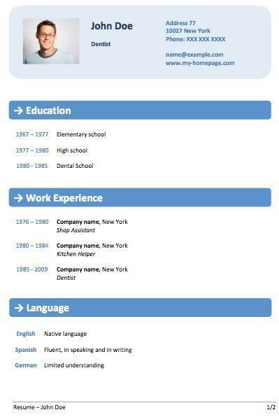 9 best cv design ideas images on Pinterest | Cv design, Cv ...
