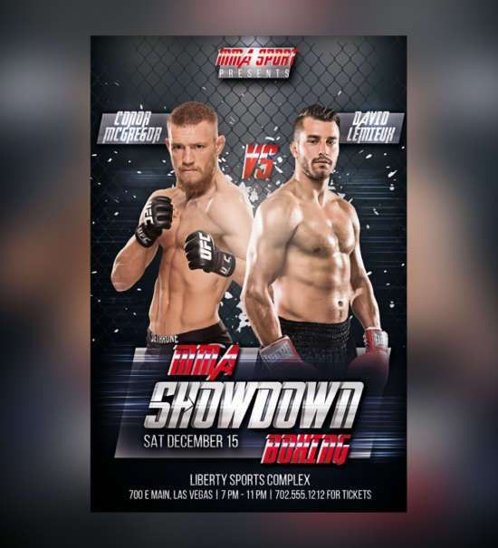 Showdown Flyer Template. Flyer Template - Rap Battle Showdown ...