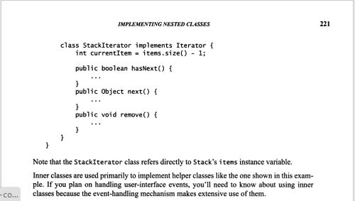 Why java Iterator interface should be implemented as inner class ...