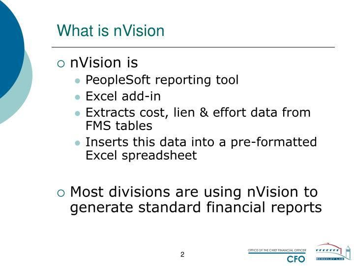 PPT - PeopleSoft nVision - Overview PowerPoint Presentation - ID ...
