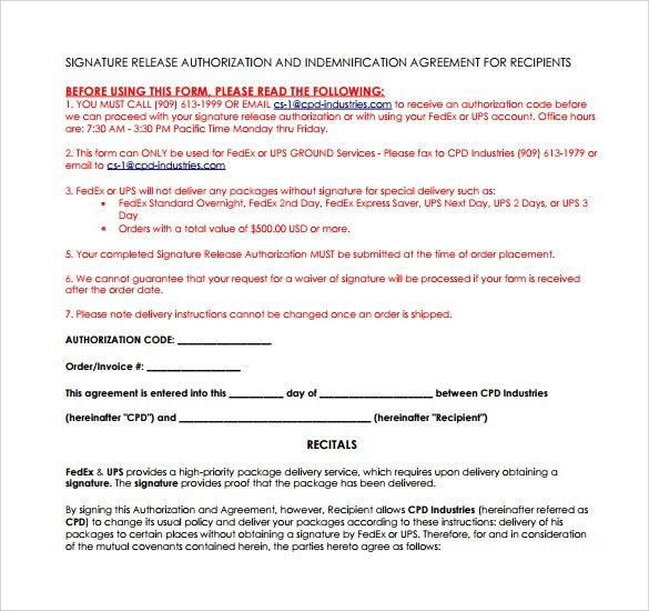 Shipment Release Authorization Form] Barry Schwartzs Blog The ...