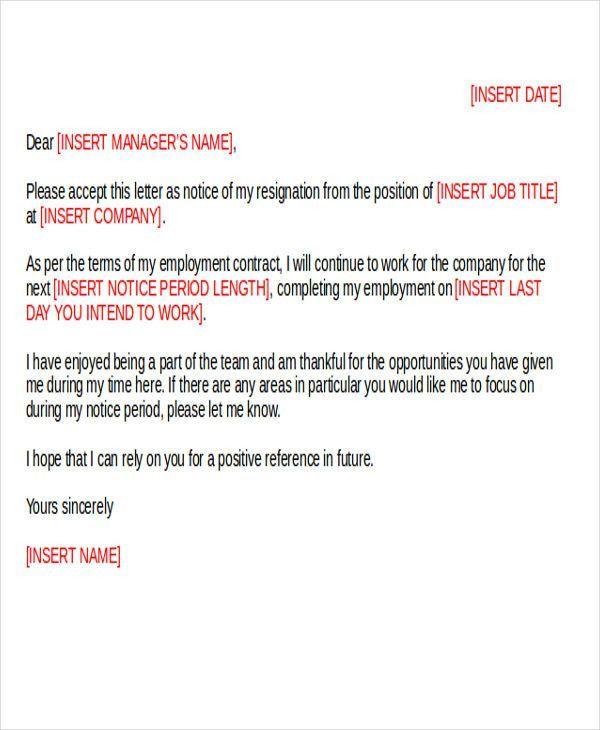 30+ Resignation Letter Templates in Doc | Free & Premium Templates