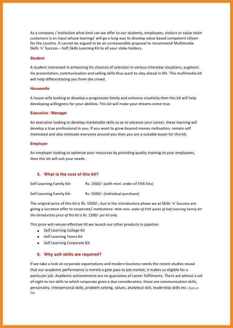 sample resume with skills listed sample resume with skills sample ...
