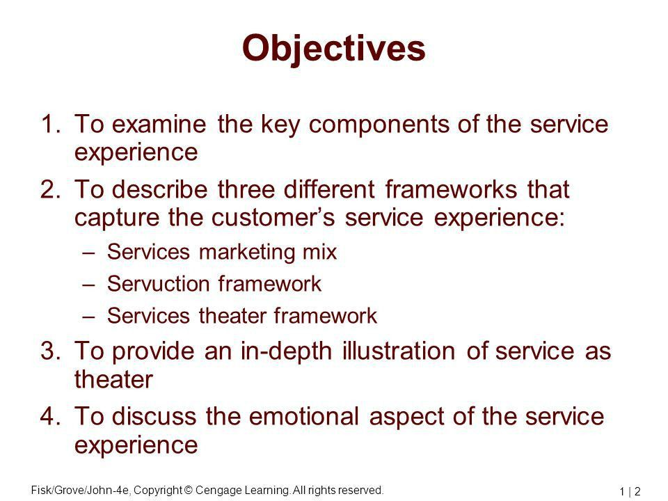 Frameworks for Managing the Customer's Experience - ppt video ...