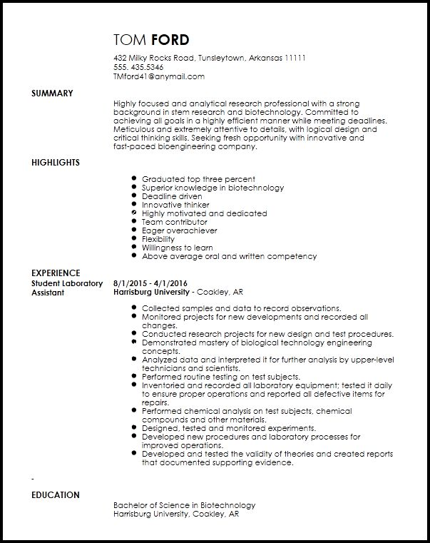 Entry Level Research Associate Resume Template | ResumeNow