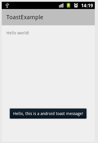 How to create Toast messages in Android - Code2Care